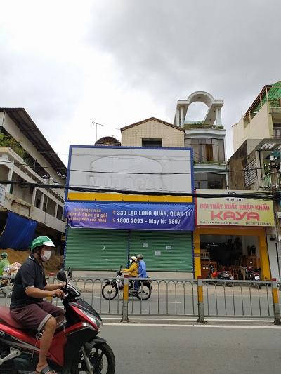 Cho thuê nhà đường Trường Chinh Phường 12 Quận Tân Bình