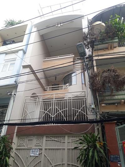 Cho thuê nhà đường trường chinh quận tân bình diện tích 4,7x22m 3 lầu