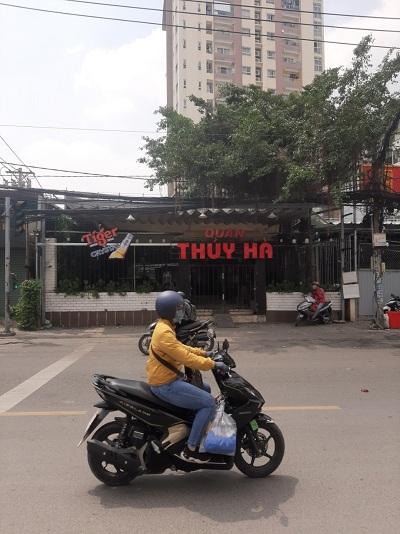Cho thuê nhà đường Ung Văn Khiêm quận Bình Thạnh 12x50m