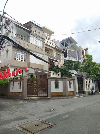 Cho thuê nhà đường Vân Côi Quận Tân Bình