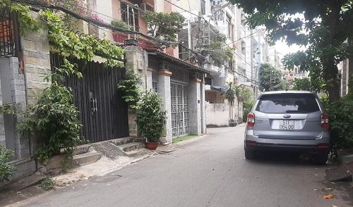 Cho thuê nhà đường Võ Oanh (D3) quận Bình Thạnh