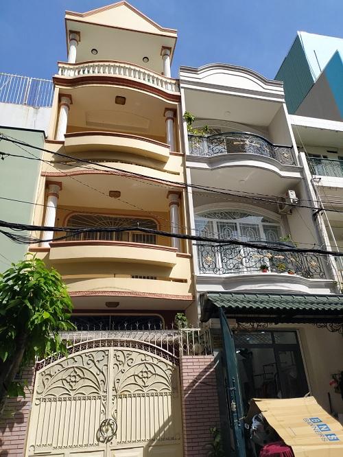 Cho thuê nhà mặt tiền đường B6 phường 12 quận Tân Bình
