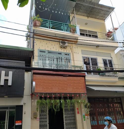 Cho thuê nhà mặt tiền đường Bàu Bàng quận Tân Bình