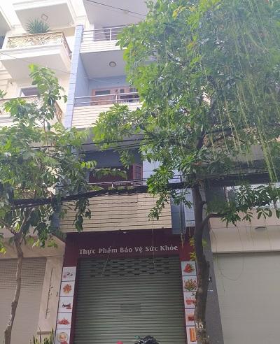Cho thuê nhà mặt tiền đường bàu cát 1 quận Tân Bình