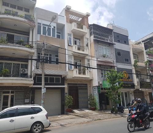 Cho thuê nhà mặt tiền đường Chu Văn An quận Bình Thạnh diện tích 4x20m 3 lầu