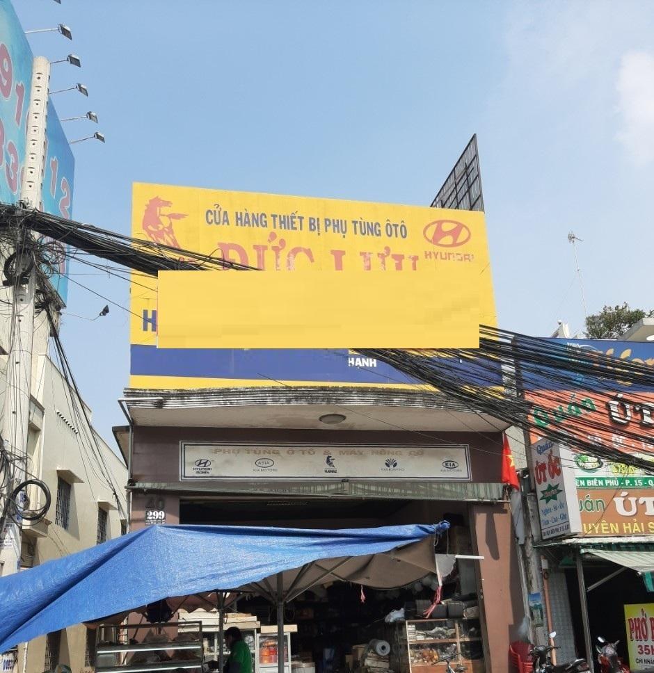 Cho thuê nhà mặt tiền đường Điện Biên Phủ, quận Bình Thạnh