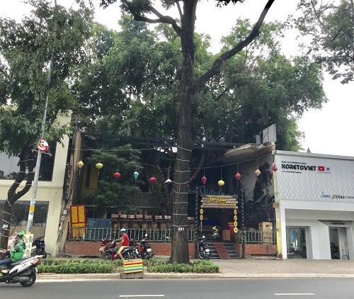Cho thuê nhà mặt tiền đường Điện Biên Phủ quận 3