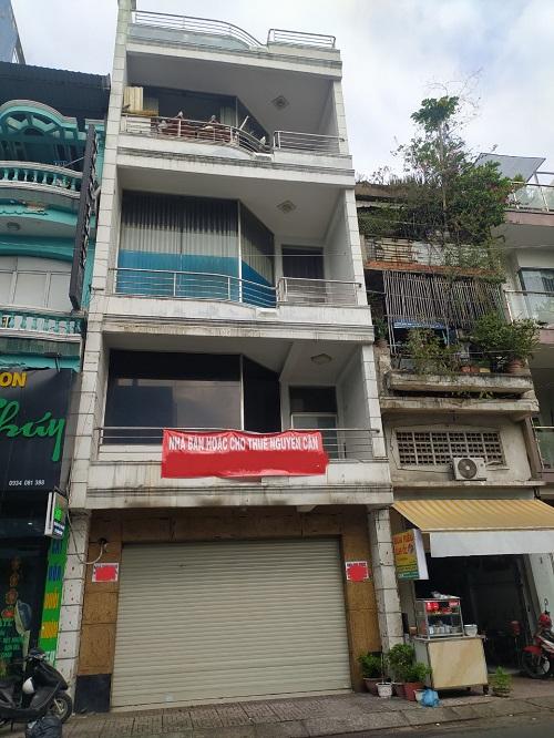 cho thuê nhà mặt tiền đường Đồng Đen
