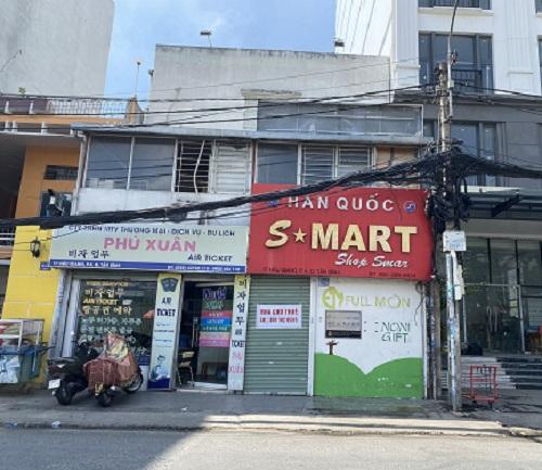 Cho thuê nhà mặt tiền đường Hậu Giang
