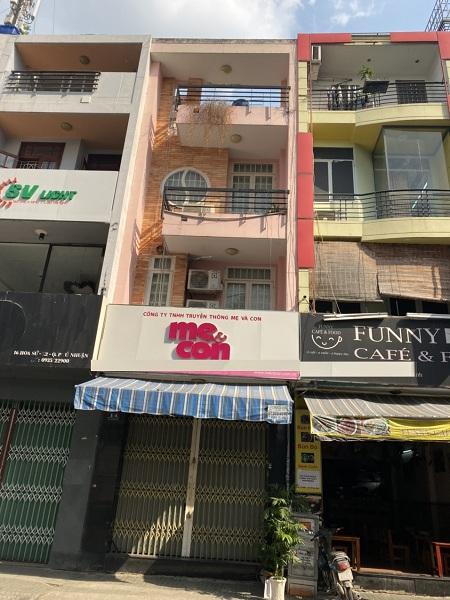 Cho thuê nhà mặt tiền đường Hoa Sứ, quận Phú Nhuận