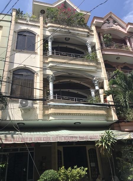 Cho thuê nhà mặt tiền đường Hoàng Dư Khương, quận 10