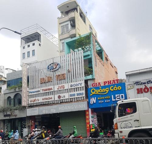 Cho thuê nhà mặt tiền đường Hoàng Văn Thụ quận Tân Bình