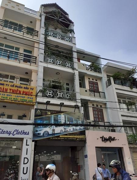 Mặt tiền đường Huỳnh Văn Bánh Quận Phú Nhuận 4x16m2