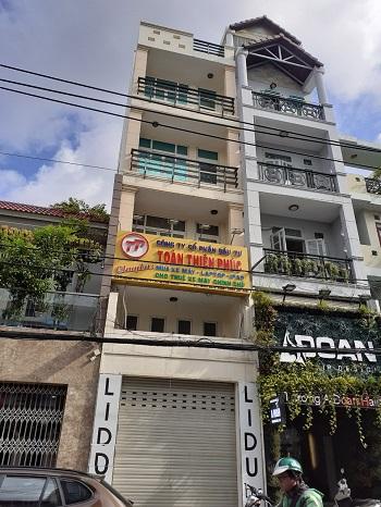 Cho thuê nhà mặt tiền đường Huỳnh Văn Bánh quận Phú Nhuận