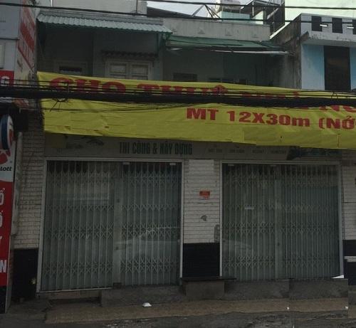 Cho thuê nhà mặt tiền đường Lạc Long Quân phường 11 quận Tân Bình
