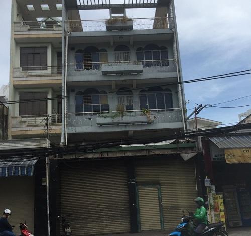 Cho thuê nhà mặt tiền đường Lạc Long Quân quận Tân Bình