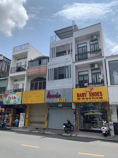 Cho thuê nhà mặt tiền đường Lê Văn Sỹ, Phường 1, Quận Tân Bình