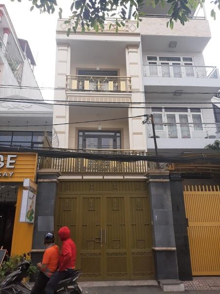 Cho thuê nhà mặt tiền đường Nguyễn Cửu Vân quận Bình Thạnh