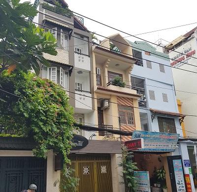 Cho thuê nhà mặt tiền đường Nguyễn Minh Hoàng, cho thuê nhà khu k300