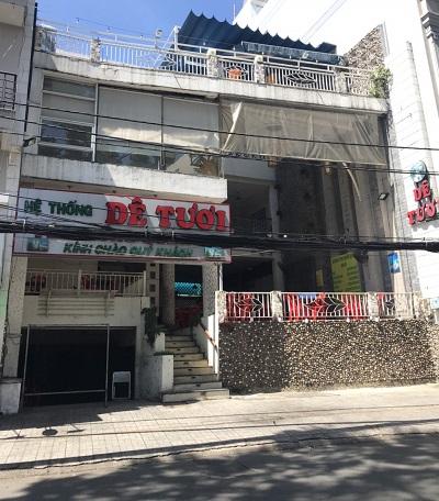 Cho thuê nhà mặt tiền đường Nguyễn Thái Bình quận tân bình