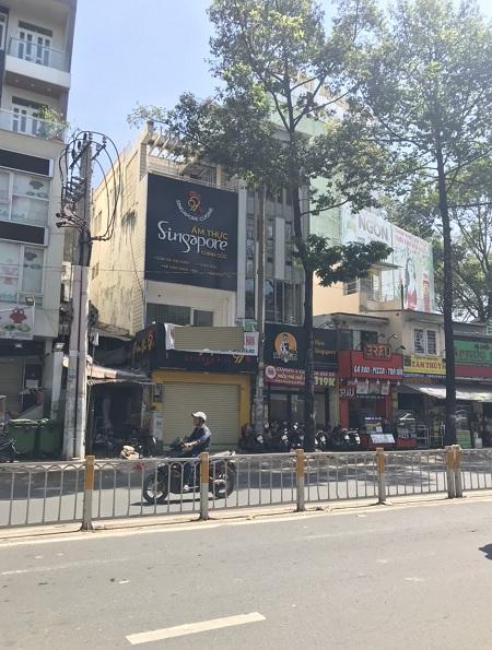 Cho thuê nhà mặt tiền đường Nguyễn Tri Phương Quận 10 diện tích 4.5x16m2 giá từ 75tr/tháng