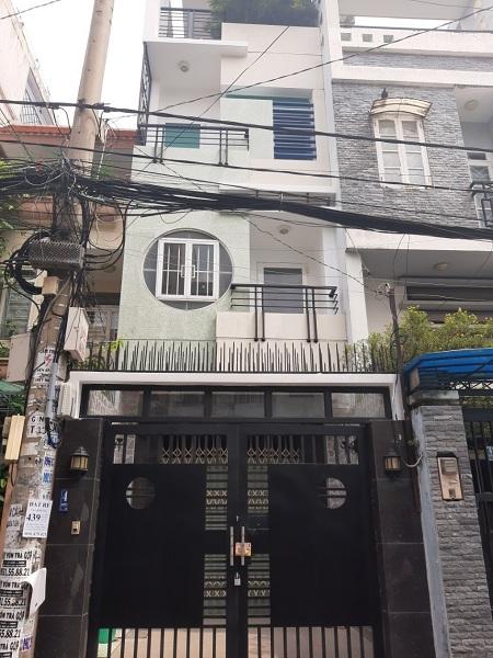 Cho thuê nhà mặt tiền đường Nguyễn Văn Đậu, thuê nhà nguyên căn quận Bình Thạnh