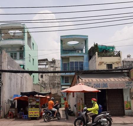 Cho thuê nhà mặt tiền đường Nguyễn Xí, cho thuê nhà Bình Thạnh