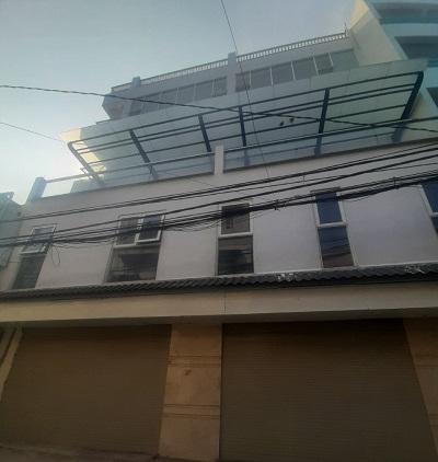 Cho thuê nhà mặt tiền đường Nơ Trang Long diện tích 12x25m 3 lầu trống suốt