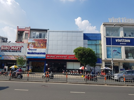 Cho thuê nhà mặt tiền đường Phan Đăng Lưu, thuê nhà quận Bình Thạnh