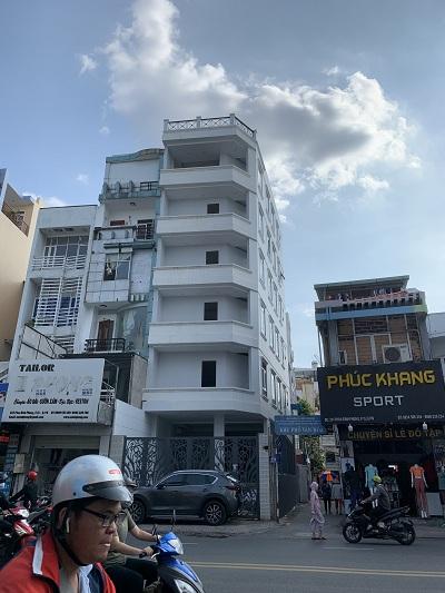 Cho thuê nhà mặt tiền đường Phan Đình Phùng, Phường 1, Quận Phú Nhuận