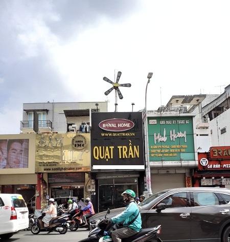 Cho thuê nhà mặt tiền đường Phan Đình Phùng, quận Phú Nhuận