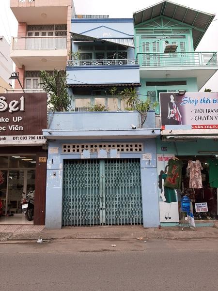 Cho thuê nhà mặt tiền đường Phan Văn Trị, quận Bình Thạnh