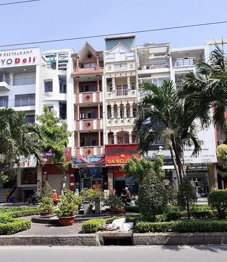 Cho thuê nhà mặt tiền đường Phan Xích Long quận Phú Nhuận