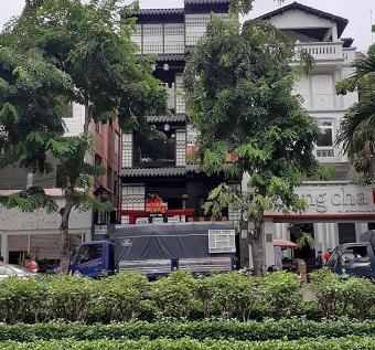Cho thuê nhà mặt tiền đường Phan Xích Long diện tích 8x16m 1 hầm 4 lầu
