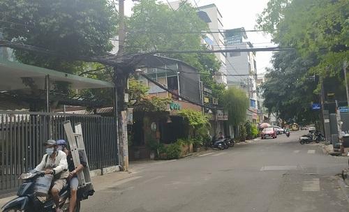 Cho thuê nhà mặt tiền đường Quách Văn Tuấn quận Tân Bình