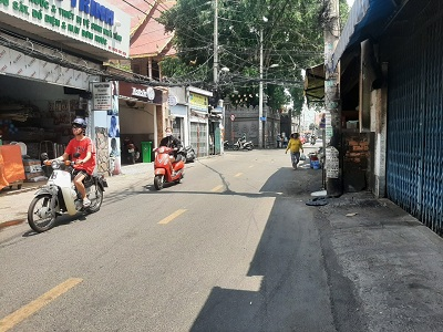 Cho thuê nhà mặt tiền đường Trần Bình Trọng, Phường 5, Quận Bình Thạnh