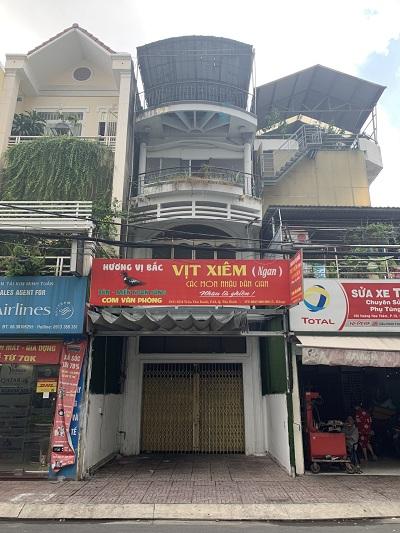 Cho thuê nhà mặt tiền đường Trần Văn Danh, Phường 13, Quận Tân Bình