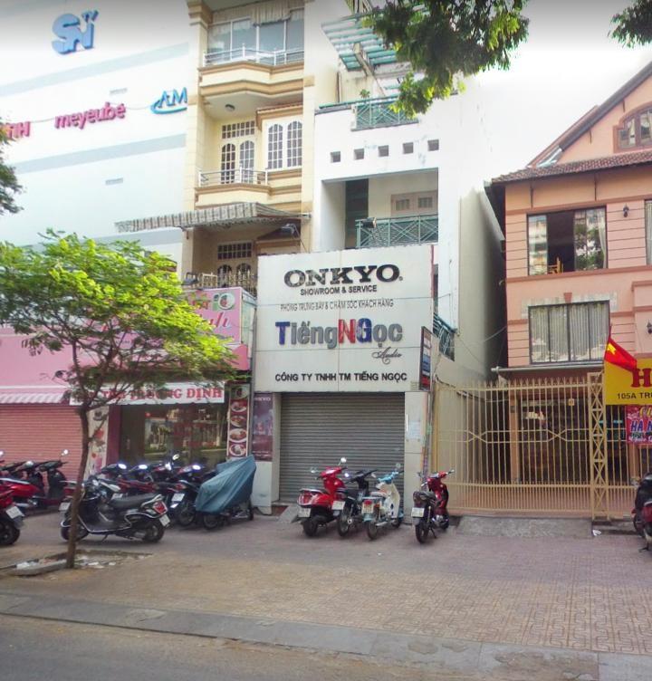 Cho thuê nhà mặt tiền đường Trương Định