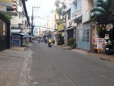Cho thuê nhà mặt tiền đường Tự Lập, Phường 4, Quận Tân Bình
