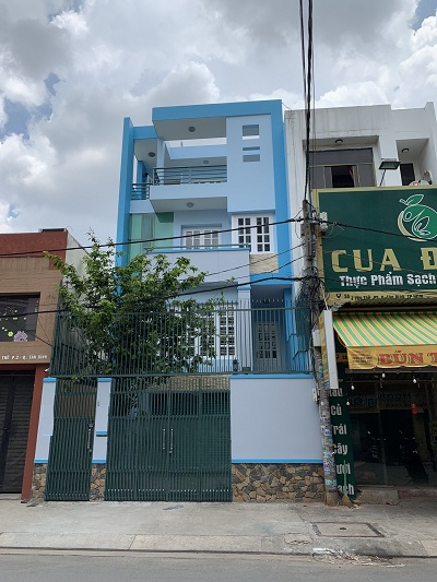 Cho thuê nhà mặt tiền đường Yên Thế, Phường 2, Quận Tân Bình