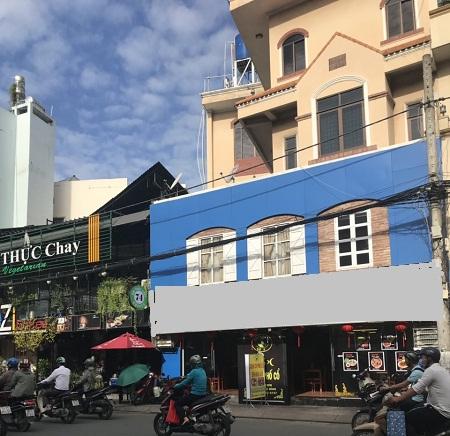 Cho thuê nhà mặt tiền nguyên căn đường Út Tịch quận Tân Bình