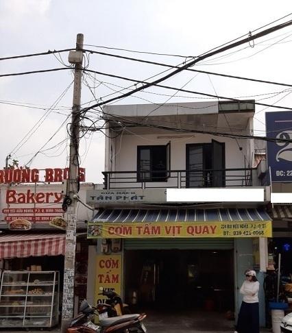 Cho thuê nhà mặt tiền quận Bình Thạnh, đường Bùi Hữu Nghĩa