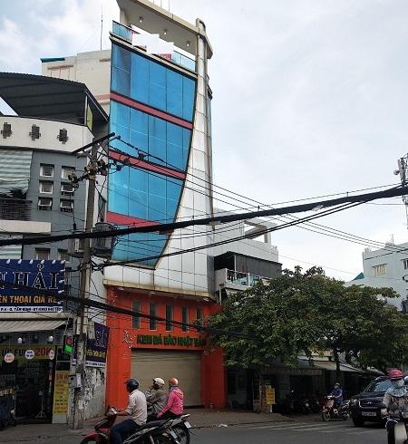 Cho thuê nhà mặt tiền quận Tân Bình, đường Xuân Diệu