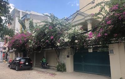 Cho thuê nhà nguyên căn đường D2 quận Bình Thạnh diện tích 25x20m