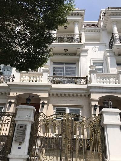 Cho thuê nhà nguyên căn đường số 5 khu CityLand Center Hills Trần Thị Nghỉ Quận Gò Vấp