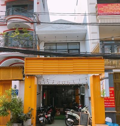 Cho thuê nhà nguyên căn mặt tiền đường Nguyễn Cửu Vân Quận Bình Thanh