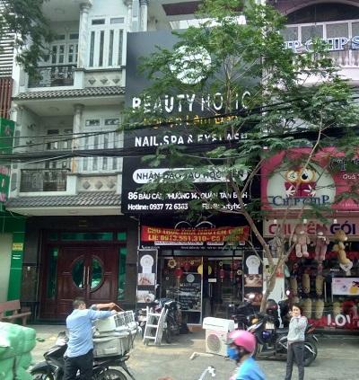 Cho thuê nhà nguyên căn mặt tiền đường Bàu Cát Đôi