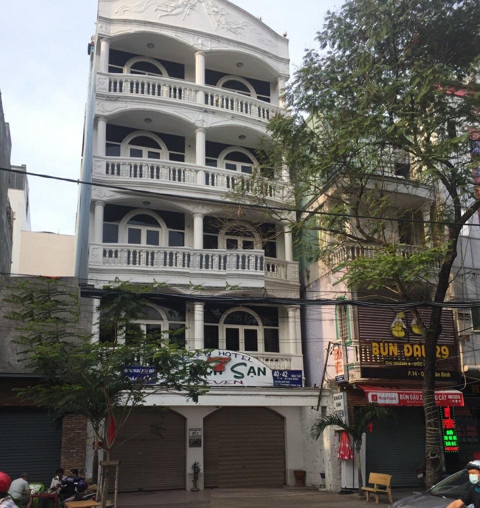 Cho thuê nhà nguyên căn mặt tiền đường Bàu Cát Đôi quận Tân Bình