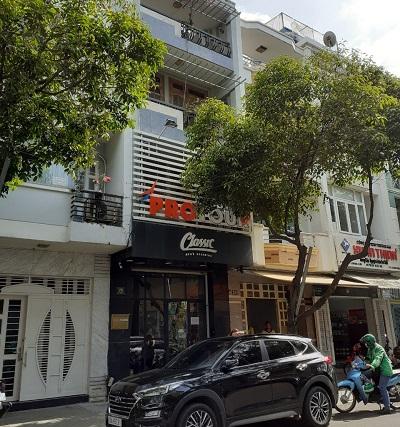 Cho thuê nhà nguyên căn mặt tiền đường Hoa Phượng Quận Phú Nhuận