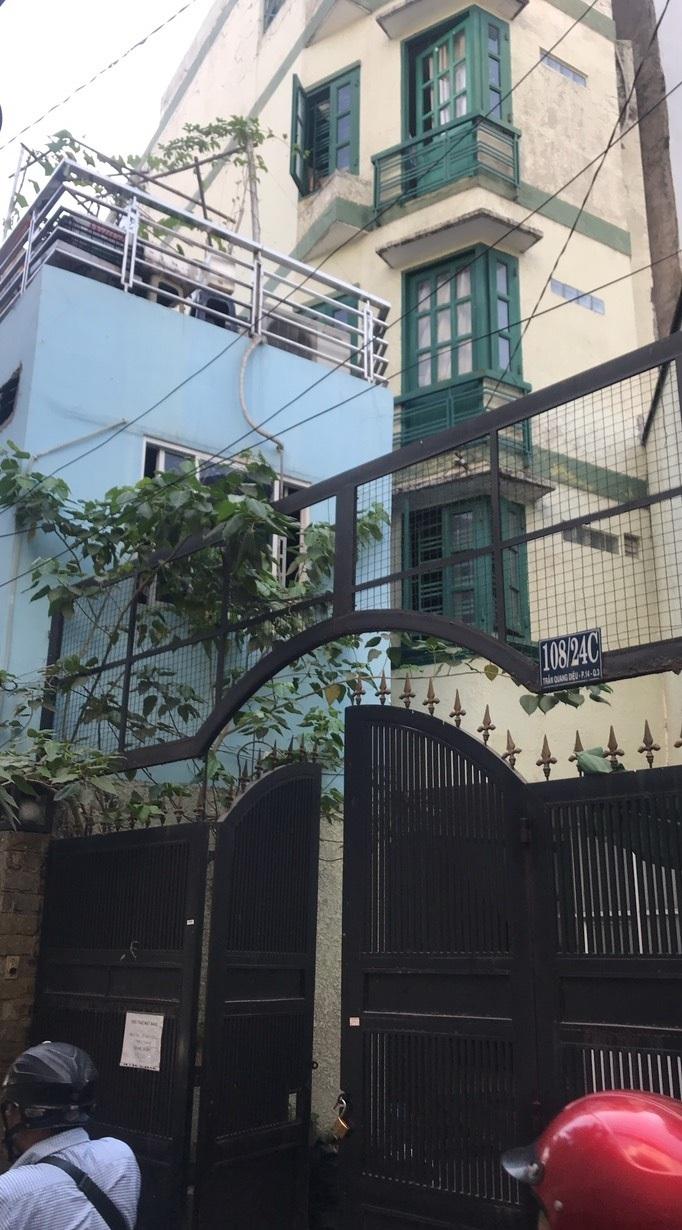 Cho thuê nhà quận 3, cho thuê nhà đường Trần Quang Diệu